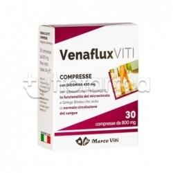 Venaflux Viti Integratore per Gambe Pesanti e Emorroidi 30 Compresse