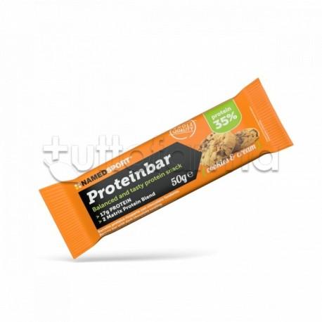 Named Sport ProteinBar Barretta Proteica Gusto Cookies & Cream 50gr