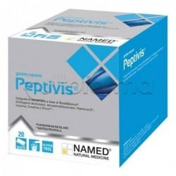 Named Peptivis Integratore per Ossa e Muscoli Gusto Neutro 20 Bustine