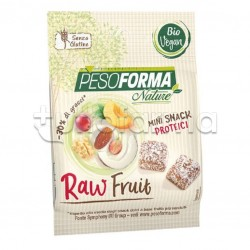 Pesoforma Nature Raw Fruits Snack Proteici Dietetici 32gr