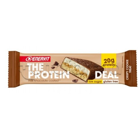 Enervit The Protein Deal Barretta Proteica per Sportivi Gusto Cookie 55gr