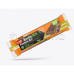 Named Sport ROCKY Protein Bar Barretta Proteica Gusto Double Chocolate 50gr