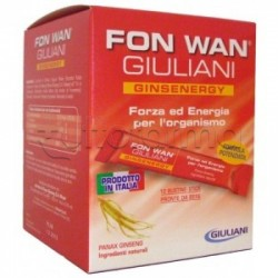 Giuliani Fon Wan Ginsenergy Integratore Energizzante 12 Buste 10ml