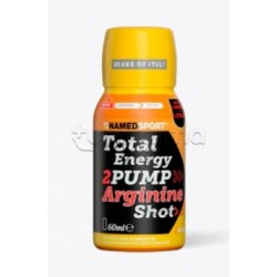 Named Sport TOTAL ENERGY Shot 2PUMP Arginina Gusto Mango e Pesca 60ml