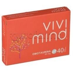 ViviMind Integratore per Memoria e Mente 40 Compresse