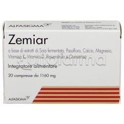 Zemiar Integratore per Disturbi Menopausa 20 Compresse