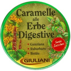Giuliani Giusto Caramelle Digestive Erbe Senza Zucchero 60 gr.
