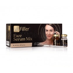 Be Filler Face Serum Mix Siero Idratante e Antirughe per il Viso 8 Flaconcini e 4 Pipette