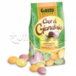 Giuliani Giusto Ovetti Cuor di Gianduia Senza Glutine Per Celiaci 200g