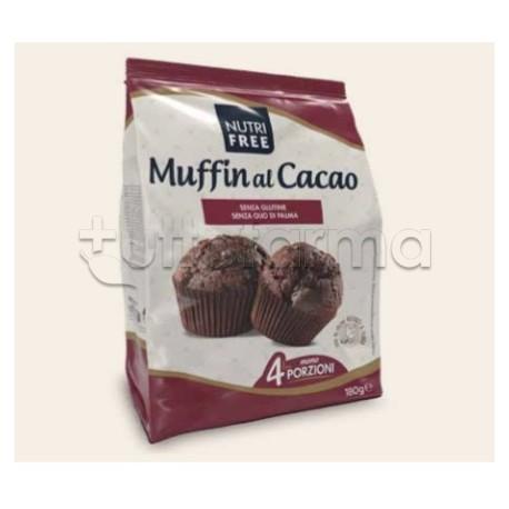 Nutrifree Muffin Senza Glutine per Celiaci 4 Porzioni da 45gr