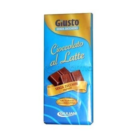 Giuliani Giusto Tavoletta Cioccolato Al Latte Senza Zuccheri 85g