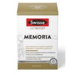 Swisse Ultiboost Memoria Integratore per Memoria e Concentrazione 60 Capsule