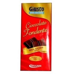 Giuliani Giusto Tavoletta Cioccolato Fondente Senza Zucchero 85g
