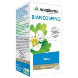 Arkocapsule Biancospino Bio Integratore per Dormire e Contro Stress 130 Capsule