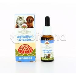 Australian Bush Flower Agitation & Calm Gocce Veterinarie per Cani e Gatti 30ml