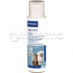 Allercalm Shampoo Veterinario per Cani e Gatti per Cute Sensibile e Secca 250ml