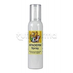 Apaderm Spray Veterinario per Parassiti di Animali Domestici 150ml