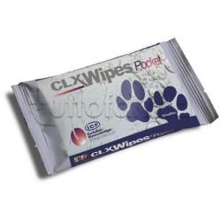 Clx Wipes Pocket Salviette Veterinarie per Cani e Gatti 20 Pezzi
