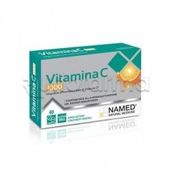 Named Vitamina C 1000 Integratore per Difese Immunitarie 40 Compresse