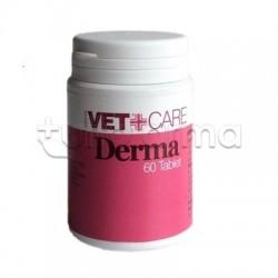 Derma Vetcare Veterinario per Affezioni Cutanee di Cani e Gatti 60 Tavolette