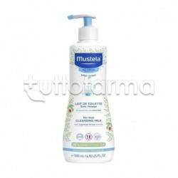 Mustela Latte di Toilette Detergente per Pelle Normale 500ml