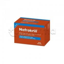 Nefrokrill Integratore Veterinario per Insufficienza Renale dei Gatti 60 Perle