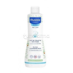 Mustela Latte di Toilette Detergente per Pelle Normale 750ml