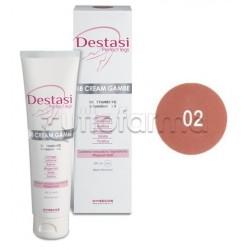 Destasi BB Cream Gambe Perfette Tonificante Uniformante Colorito Colore 02 100 ml