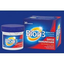 Bion 3 Difese Immunitarie Integratore con Vitamine e Minerali 30 Compresse