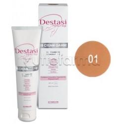 Destasi BB Cream Gambe Perfette Tonificante Uniformante Colorito Colore 01 100 ml
