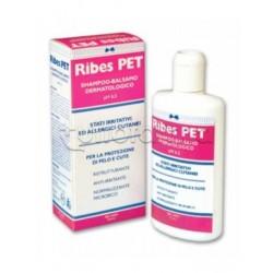 Ribes Pet Shampoo-Balsamo Dermatologico Veterinario per Cani e Gatti 200ml