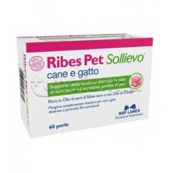 Ribes Pet Sollievo Integratore Veterinario per Dermatite di Cani e Gatti 60 Perle