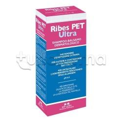 Ribes Pet Ultra Shampoo-Balsamo Veterinario per Cute Secca di Cani e Gatti 200ml