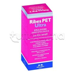 Ribes Pet Ultra Emulsione Spray Veterinaria per Cute Irritata di Cani e Gatti 50ml