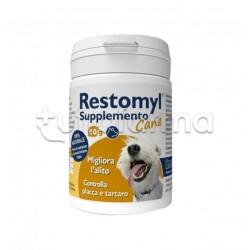 Restomyl Supplemento Cane Veterinario per Denti dei Cani 60g