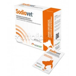Sodiovet Mangime Complementare Veterinario per Intestino di Cani e Gatti 8 Bustine