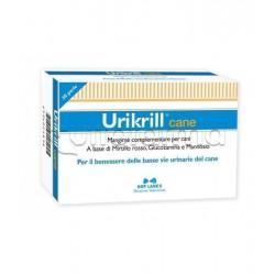 Urikrill Cane Mangime Veterinario per Vie Urinarie del Cane 30 Perle