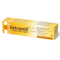 Vetramil Unguento al Miele Veterinario per Cicatrizzazione di Animali Domestici 30g