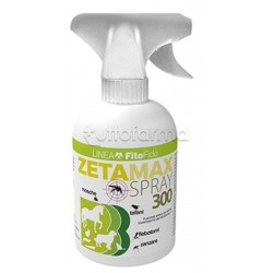 Zetamax Pump Spray Veterinario Repellente per Animali  750ml