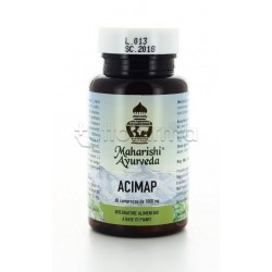 Maharishi Ayurveda Acimap Integratore per Acidità Gastrica 60 Compresse