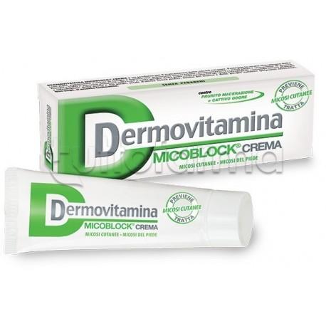 Dermovitamina MicoBlock Crema Micosi Cutanee 30 ml