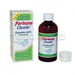 Forhans Clexidin 0,12 Senza Alcool Collutorio 200ml