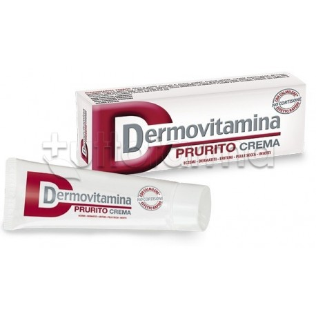 Dermovitamina prurito crema antiprurito 30 ml - Prurito diffuso a letto ...