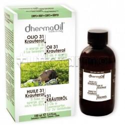 Dhermaoil Olio 31 Krauterol Olio Massaggi Tonificante 100 ml