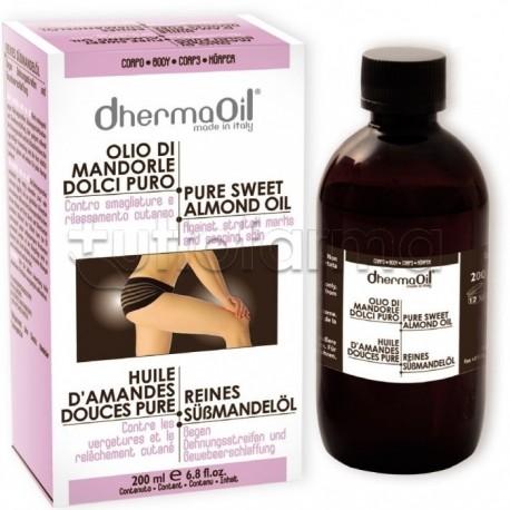 Dhermaoil Olio Mandorle Dolci Puro 200 ml