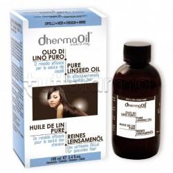 Dhermaoil Olio Lino Puro Maschera Ristrutturante Per Capelli 100 ml