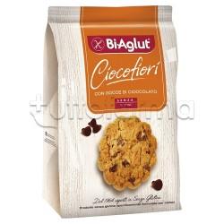 Biaglut Biscotti Cioco Fiori con Gocce di Cioccolato Senza Glutine 200g