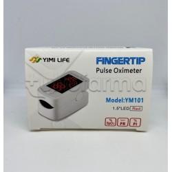FingerTip Saturimetro Pulsossimetro Portatile per Saturazione 1 Pezzo