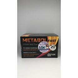Drenax Forte Metabol Fast Integratore per Controllo del Peso 20 Bustine Stick
