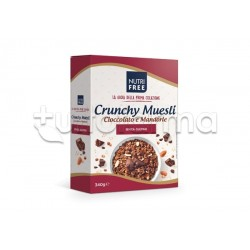 Nutrifree Crunchy Muesli Cioccolato e Mandorle Senza Glutine 340g